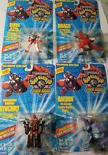 Servo Drago Synchro Samurai Syber squad MINI Action Figure lot monster ninja moc