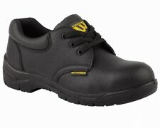 WorkForce GS2-P Leather Safety Shoes Steel Toe Cap Work Boots