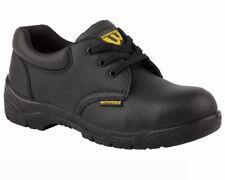 Workforce GS2-P Cuero Zapatos de Seguridad Botas de Trabajo Punta de Acero Cap