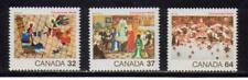 1984 Canada SC# 1040-1042 - Christmas Lot# 156 M-NH