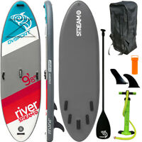 DVSport SUP River 9.8 Board Stand Up Paddle Surfboard aufblasbar Paddel ISUP
