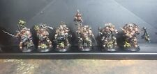 Warhammer 40k Death Guard Heroes 6 Figure set. Painted High Quality.