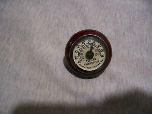 Tel-Tru Car Dash Thermometer
