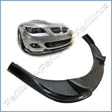 Fit BMW 04-10 E60 5-Series 528i 550i M-Tech Bumper H Type Carbon Fiber Front Lip