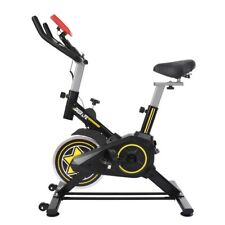 Stationary Indoor Bicycle-Bicycle With Tablet Stand And Comfortable Cushion