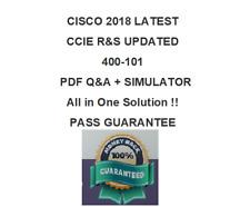 300-401 Cisco CCIE R&S Test PDF & Sim (2018 Verified )