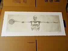 2007 NIKE X Michael Jordan X Eric Elms X Undefeated Wings Print S/N 137/230