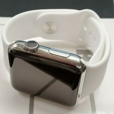 Apple Watch 42mm 316L Silver Stainless Steel ceramic *A GRADE**