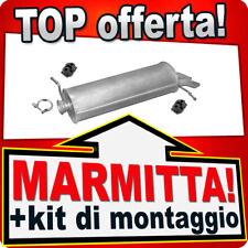 MARMITTA SILENZIATORE POSTERIORE CITROEN C2 JM/_ 1.1 2003/> 20665