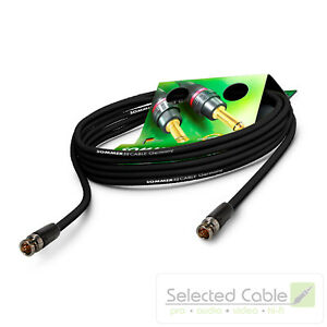 Sommer Cable 25m BNC - Cable 4K UHD 12G 6G Sdi Vídeo Neutrik Reartwist VTGX-2500