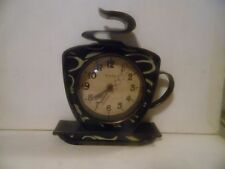 Adorable Kitchen Wall clock Novelty COFFEE CUP by West Clox Perfect!