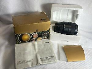 Nikon Micro-Nikkor 60MM F 2.8D AF Lens Untested In Box Camera Equipment