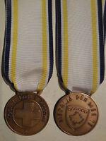 medaglia benemerenza Croce Rossa CRI in Kosowo  RARA