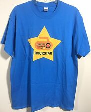 Men's Gildan Howard Center Curling Challenge Rockstar T-shirt Size L-D51
