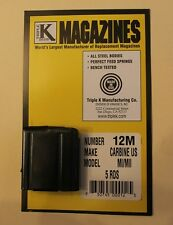 New and Unused Magazine for M1 US Carbine  by Triple K  5 Round Capacity