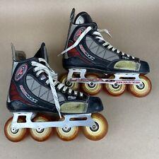 New ListingTour Inline Hockey Skates Size 11 Lebeda Hum'er Magnum Chassis.