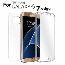 For Samsung Galaxy S7 Edge Clear TPU Full Body Cover Case Skin Full Skin Fit #3