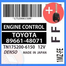 89661-48071 W/ PROGRAMMED TRANSPONDER KEY 2000 00 Lexus RX300 OEM ECU ECM BCM
