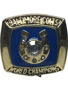 1970 Baltimore Colts Unitas NFL Super Bowl 18k Gold Plated Championship Ring