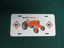 ALLIS CHALMERS WD45 WF Tractor License Plate