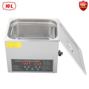 10L Ultraschallreinigungsgerät Ultraschallreiniger Dual Frequenz Ultrasonic 220V