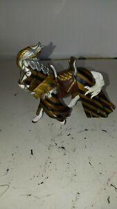 Papo Draped Tournament Horse Gold # 39285 2006