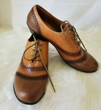 Women's Comfortiva Reddell Wingtip Brogues Shoes Oxfords Brown Taupe Red 11 N