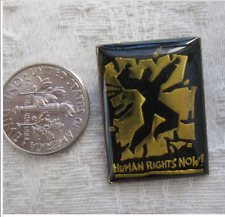 RARE 1988 CONCERT FOR HUMAN RIGHTS AMNESTY INTERNATIONAL EVENT PIN
