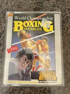 World Championship Boxing Manager Amstrad Game! Look In The Shop!