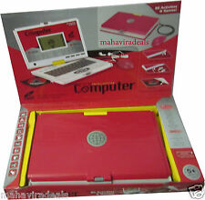 80 Activities and Games Kids Laptop With Mouse & Disc OR Kids Notebook computer