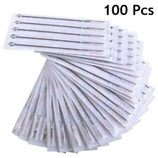 100 Pcs Mix Sizes Sterile Disposable Tattoo Needles 3 5 7 9 RL 5 7 9 RS 5 7 9 M1