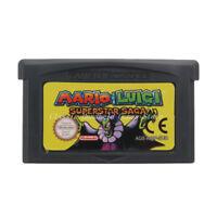 Mario & Luigi Superstar Saga GBA Game Boy Advance Cartridge English