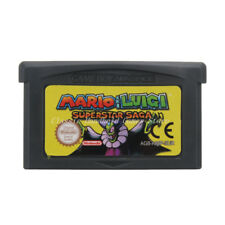 Mario & Luigi Superstar Saga GBA Game Boy Advance Cartridge English