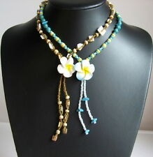 Ladies / Girls FRANGAPANI BEAD NECKLACES