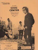 THE DOORS / JIM MORRISON 1970 BALTIMORE CIVIC CENTER CONCERT HANDBILL / FLYER