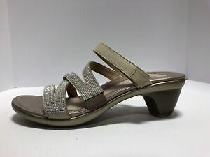 Naot Formal Womens Sandal Gold Size EUR39 M US8