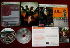 Microsoft XBox 360 BIOHAZARD 5 DELUXE EDITION NTSC-J Japan Import Resident Evil