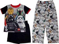 Lego Star Wars Camo Boys 3-Piece Pajamas Size 6/7 NWT $36 RV