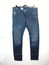 G-Star Raw 5204 Defend Super Slim - W36 L34 - Mens Blue Comfort Yate Denim Jeans