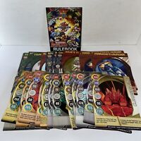 30x Bakugan Battle Brawlers Bundle - Bakugan Trading Cards Game - 15x Metal (3)