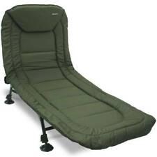 NGT LFS032 6 Leg Specimen Recliner Bed Chair with Pillow - Green