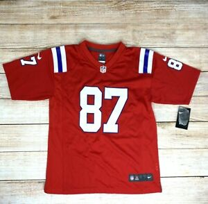 NFL New England Patriots Rob Gronkowski Nike On-Field Jersey Youth Sz M (10/12)