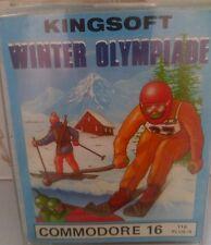 Winter Olympiade C 16, C116 Plus 4 Cassette (Tape, Anleitung, Verpackung)