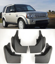 OE 4 Pcs Front Rear Splash Mud Guards Flaps For 09-15 Land Rover Discovery 4 LR4