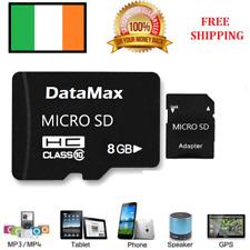 8 GB Class 10 PREMIUM Micro SD Card + Adapter TF SDHC Flash Storage Memory