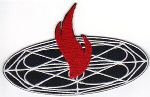 """FLAME/UNIVERSAL 4""""W KENPO MARTIAL ARTS PATCH - NEW"""