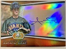 2012 Bowman Platinum Andrew Susac Certified Autograph Auto AP-ASU