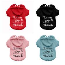 PRINCESS Dog Sweatshirt Hoodie - Dog Sweater - Dog Jumper - Printed Dog Clothing