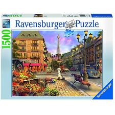 Ravensburger Vintage Paris 1500-Piece Jigsaw Puzzle For Ages 12+ Kids, 16309 New