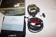SHIMANO DENDOU-Maru 3000 H-elektrorolle-IN SCATOLA ORIGINALE-Made in Japan-nr-1025